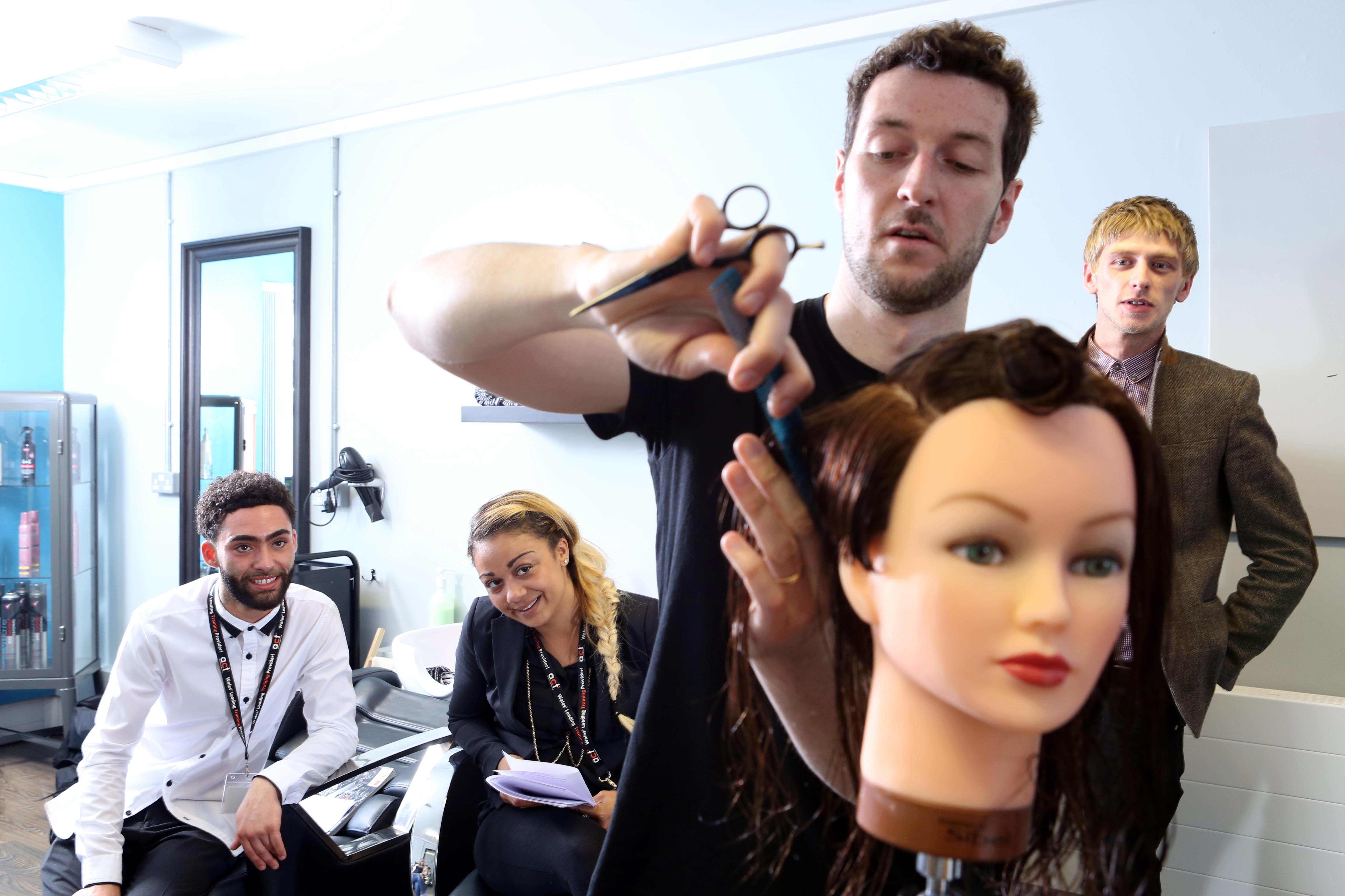 Head start for hair trainees at new wrexham training salon for A class act salon
