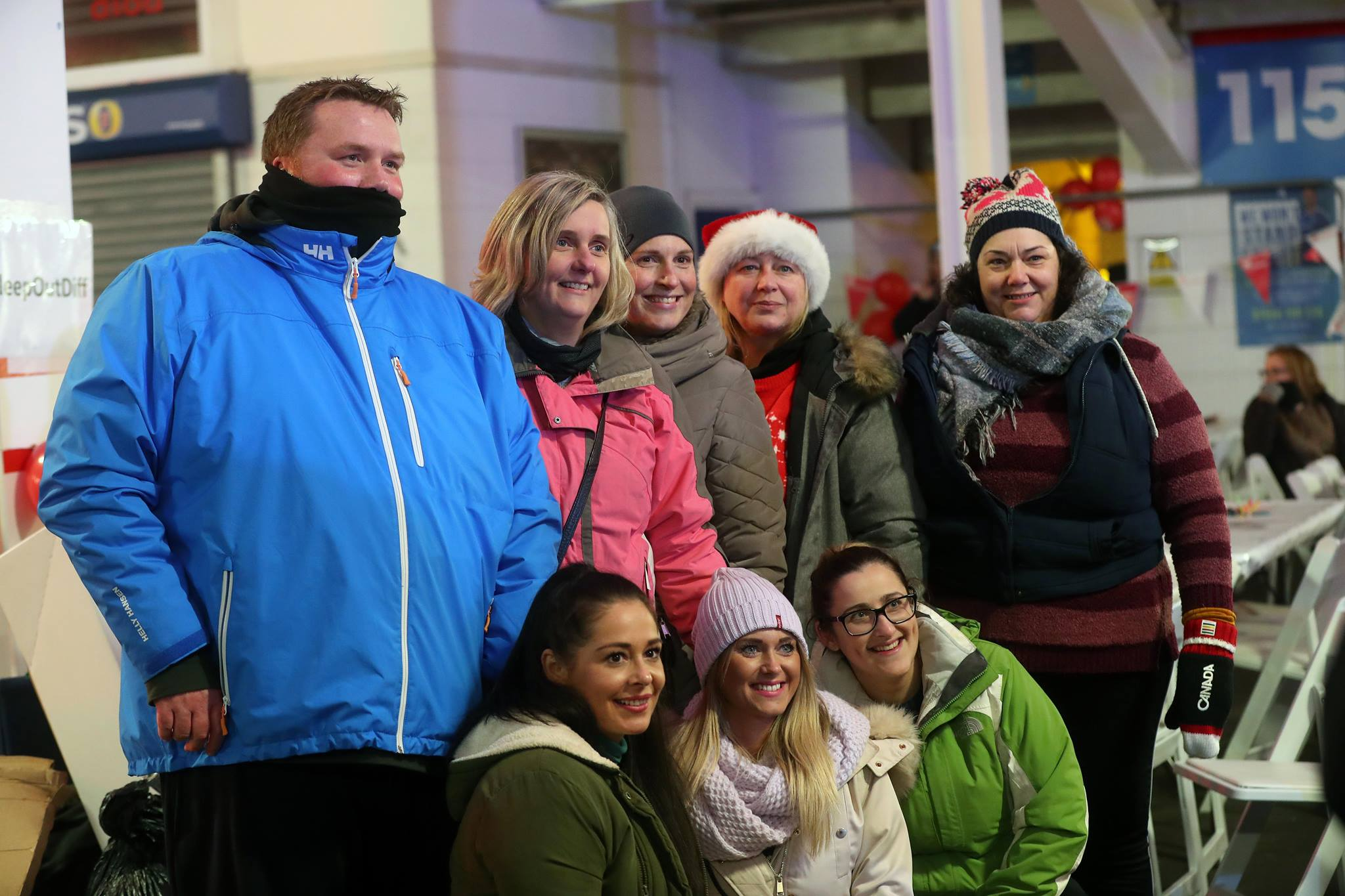 Team ACT at Llamau's Sleepout 2018